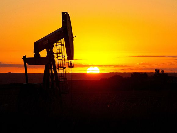 Öljypumppu Pohjois-Dakotassa.