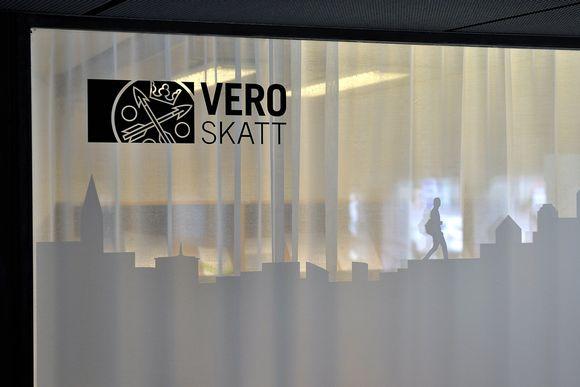 Verohallinto, Haapaniemenkatu 4, Helsingissä 3. syyskuuta.