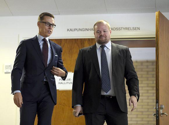 Janne Pesonen Kokoomus.