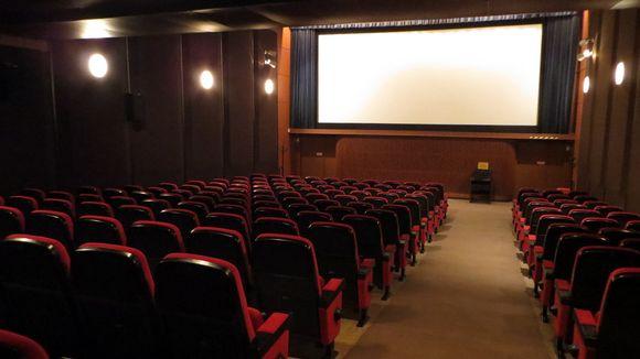 elokuvateattarin Killan sali Savonlinnassa.