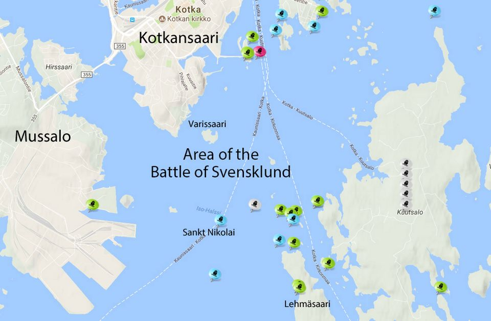 Shipwreck collection off Finland's southern coast is a