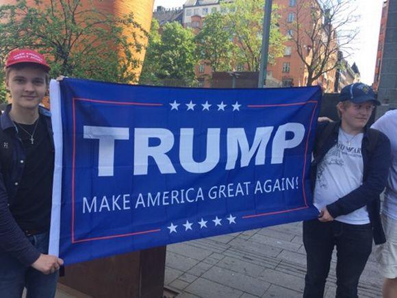 Welcome Trump
