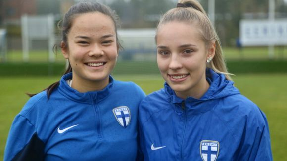 Women's U-17 national team players