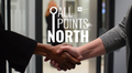 Audio: Two people shaking hands and All Points North logo.
