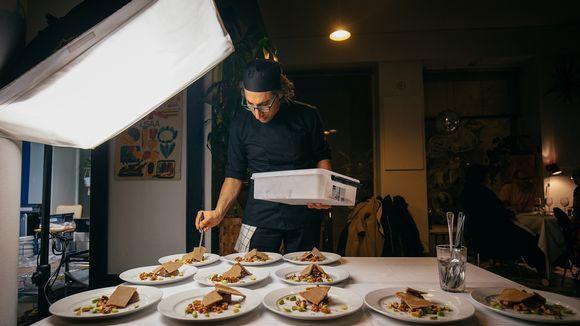 Food designer Vahid Mortezaei