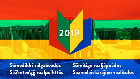 Saamelaiskäräjien vaalitulos 2019 / Sámedikki válgaboađus 2019 / Sämitige vaaljâpuáđus 2019 / Sääʹmteeʹǧǧ vaalpuʹhttõs 2019