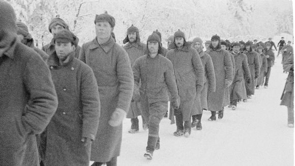 Red Army prisoners.
