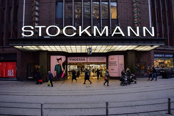 Stockmann department store in downtown Helsinki.