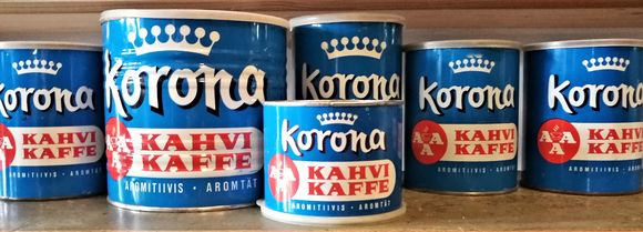 Korona coffee from the 1950s