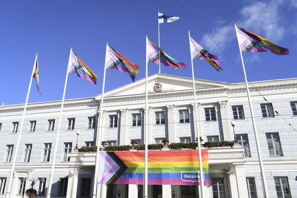 Progress Pride Flag Helsinki