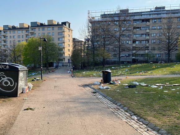 Sinebrychoff Park in Helsinki.
