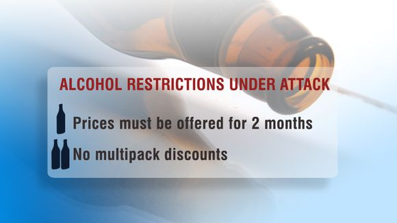 Alcohol restrictions are under attack.