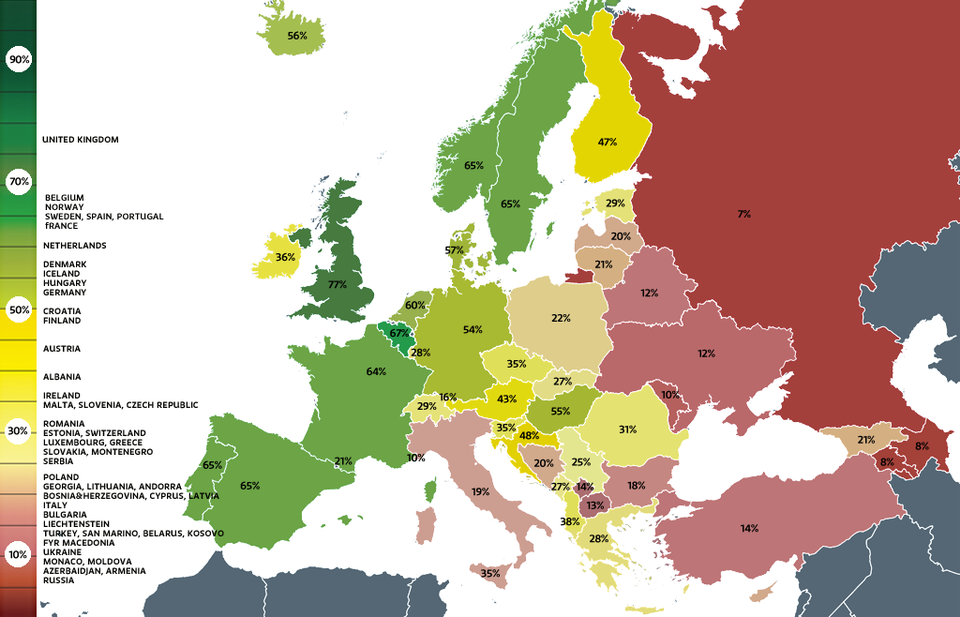 Finland drops in sexual minorities rights ranking yle uutiset yle map gumiabroncs Gallery