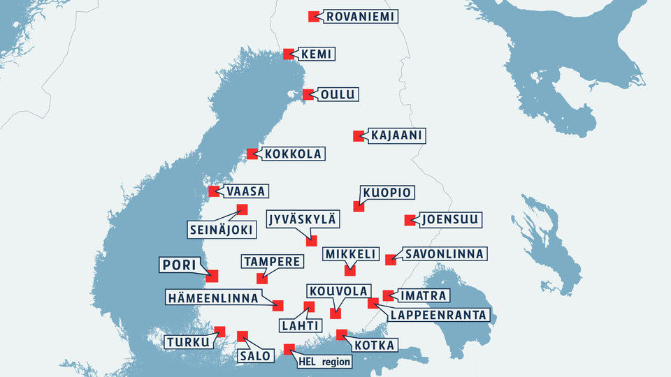 Finland's main cities to have common travel card | Yle Uutiset | yle.fi