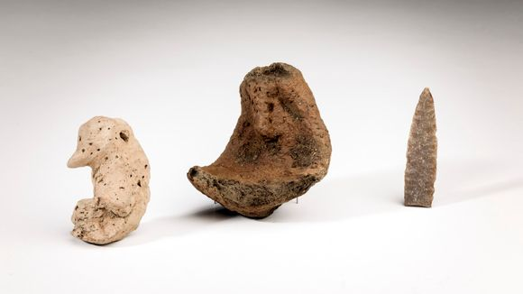 Finds from 2014 Jokiniemi dig.