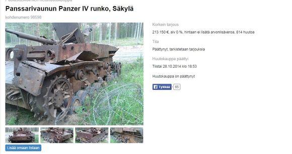 Panzer IV runko