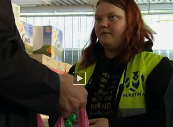 Video: Charity workers are concerned about people falling through the cracks.