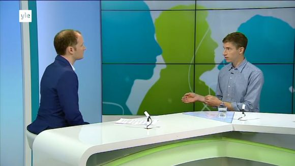 Video: Duncan Lamb interviewed on Yle TV1.