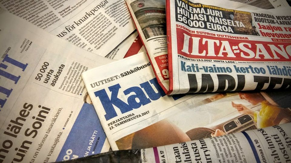 Newspapers Friday