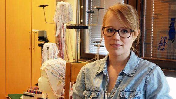 Researcher and graduate student at the University of Helsinki's cognitive neuroscience department, Sini Hämäläinen.
