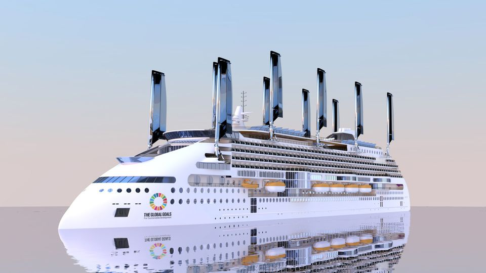 Finnish Shipyards Land Orders For Green Cruise Ships Yle - Biggest cruise ships