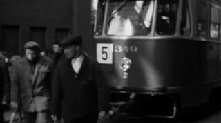raitiovaunu numero 5 vuonna 1964