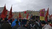 liittoliput mielenosoitus