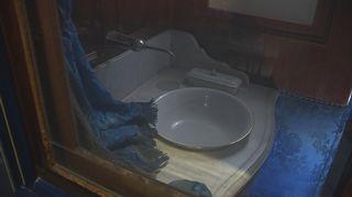 Venäjän keisarinnan vaunu lavuaari kylpyhuone