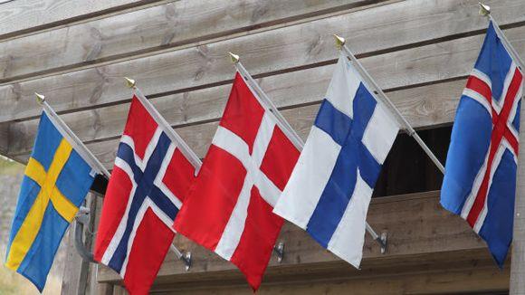 Pohjoismaiden liput
