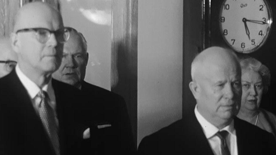 Видео: Кекконен и Хрущев