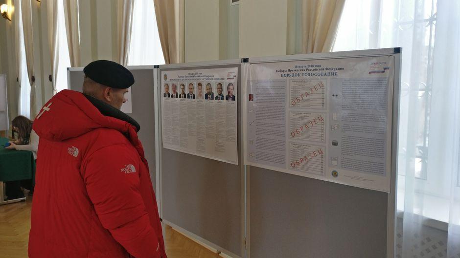 venäjä lähetystö presidentinvaalit