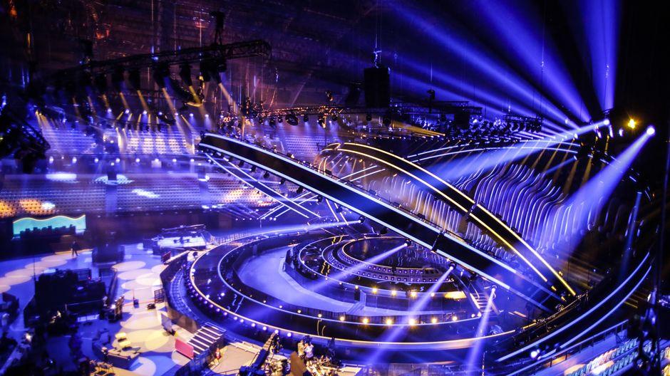 Euroviisut ensimmäinen semifinaali Lissabon lava