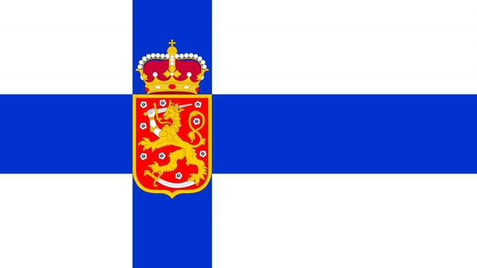 Siniristi_valtiolippu_1918-1920