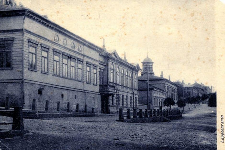 Lappeenrannan_museot_1910_Fontellin_talo