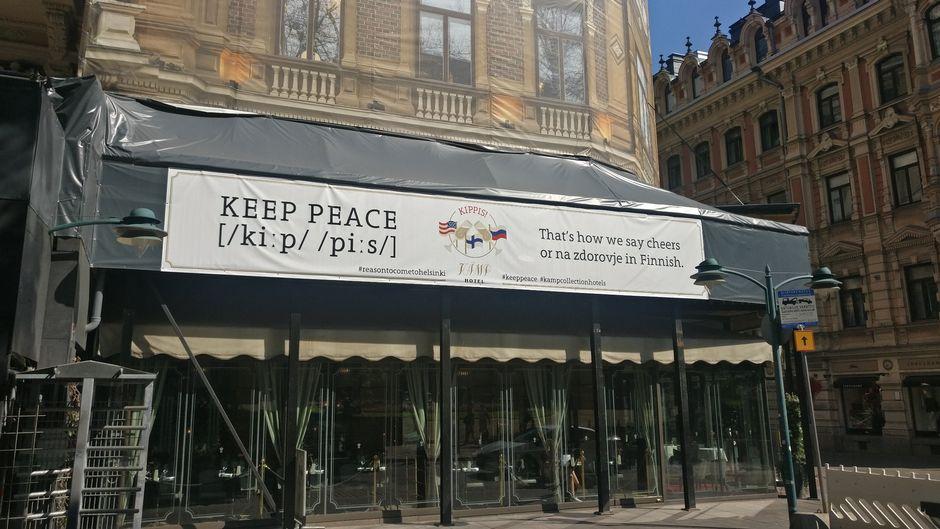 keep peace Kämp