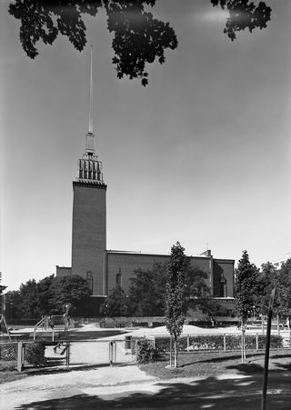 Церковь Микаэля Агриколы, архитектор - Ларс Сонк