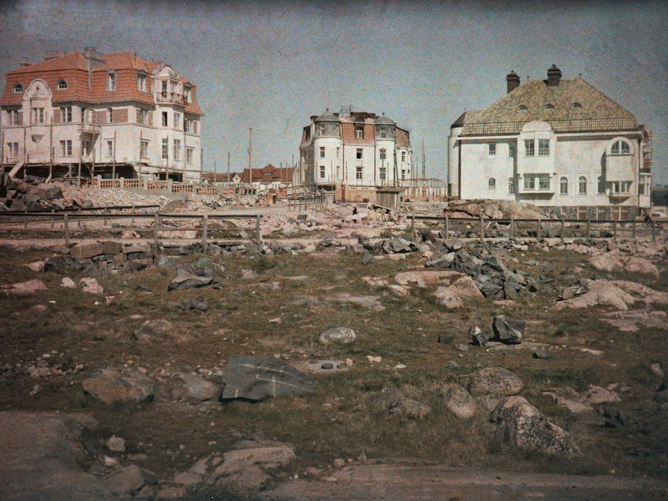 Виллы, построенные в районе Эйра, 1911 г.