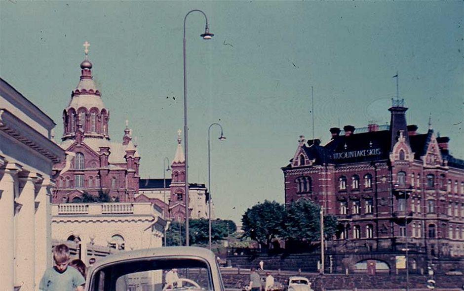 Снесенный дворец Норрмена