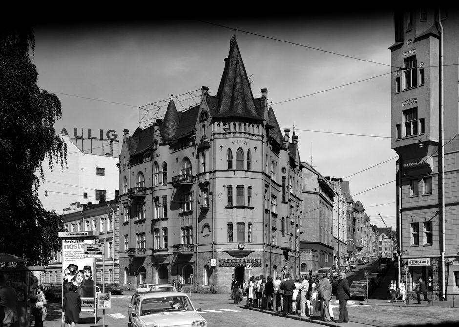 Угол Луотсикату и Сатамакату, 1950-е годы