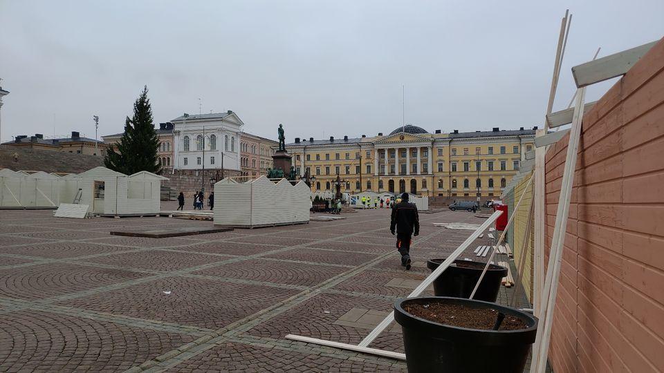 В Хельсинки открывается международная рождественская ярмарка