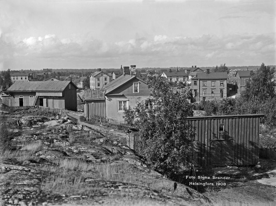 Переднее Тёёлё, район дачной застройки, 1908 г.