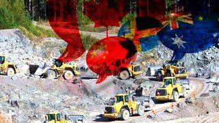Kaivosteollisuuden ulkomaalaisomistus