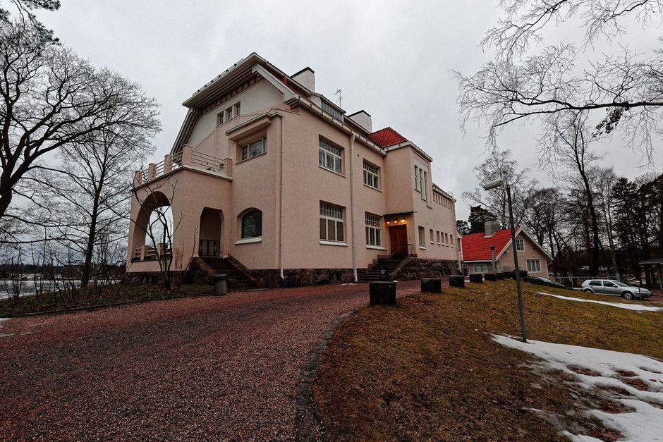Усадьба Тамминиеми, резиденция президента Кекконена
