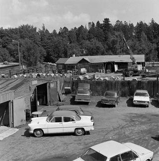 Районные автомастерские, 1978 год