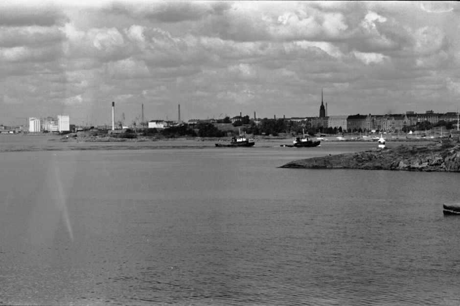 Вид на пляж Хернесаари, 1970-е
