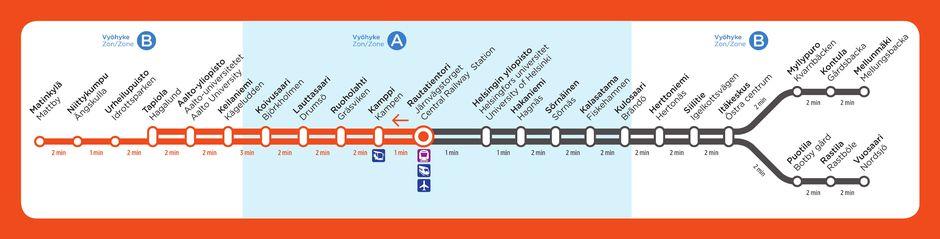 metro uusi kartta