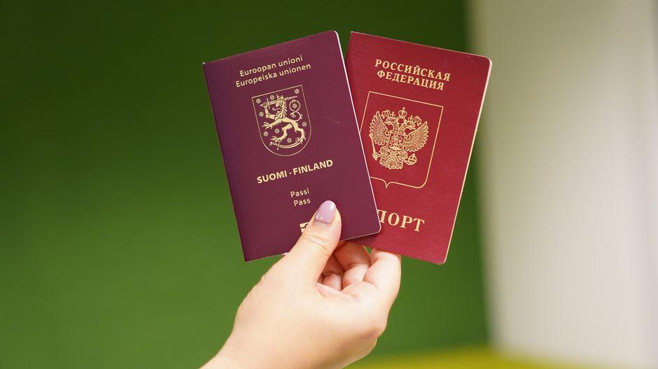 Suomen passi ja venäjän passi