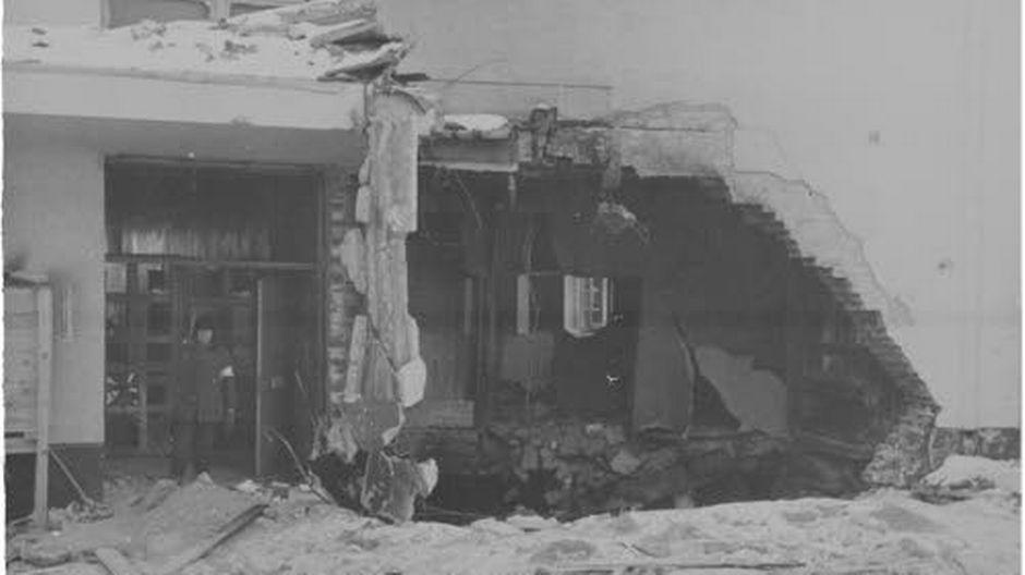 mikkeli sairaala pommitus