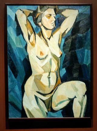 sininen alaston