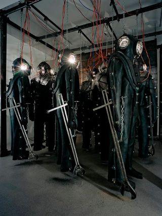 Markus Copperin installaatio Kursk, 2004.